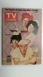 TV GUIDE Canada The Cast of ALICE          Vol 2 #18 - May 6 1978 - Issue No. 71