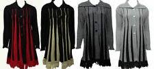 Unbranded Machine Washable Striped Regular Coats & Jackets for Women