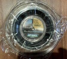 Yonex Poly Tour Spin 17 Reel (1.20mm Tennis String) PTS. 200m 656ft. Black, New