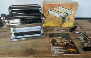 Marcato Atlas Model 150 - Vintage Pasta Maker - Stainless Steel - Italy