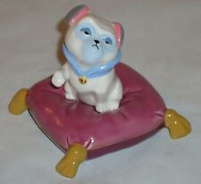 """Disney  PERCY PUG DOG from POCAHONTAS 2.5""""H  ceramic Figurine"""