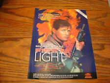 MICHAEL PARE in FIRST LIGHT 1991 promo ad & GRAND CANYON Kevin Kline
