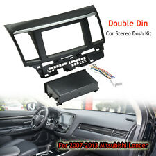 Car Stereo Single Double Din Dash Harness Kit For 2007-2013 Mitsubishi Lancer AU