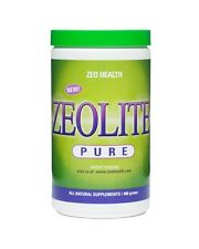 Zeo Health Pure Zeolite Detoxification Supplement Detox 400g Powder Detoxifier