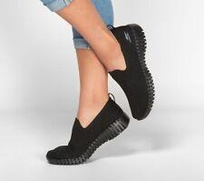 Skechers Shoes Black Go Walk Women Casual Slip On Comfort Sport Soft Mesh 16701