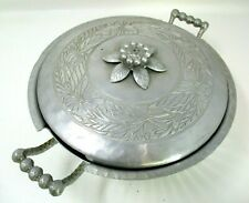 Vintage Everlast Aluminum Covered Pie Casserole Dish Serving Storage Bowl