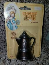1978 DURHAM old fashioned collectors miniatures  #43 COFFEE POT new j90