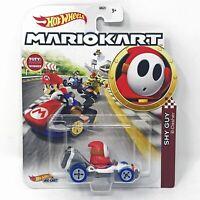 Hot Wheels Shy Guy Super Mario Kart Character Car Diecast 1:64 Scale HTF