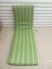 Frontgate Deluxe Outdoor Chaise Lounge Cushion Gingko Green Top Sail 24x77 KE