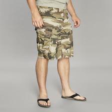 "Replika Jeans CPH Shorts/Olive Green - 42"" SRP £69.95"
