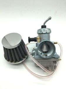 NEW CARBURETTOR CARB  FOR YAMAHA SR125 UK SELLER WITH S & B STYLE AIR FILTER