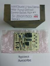 SOURCE 1/YORK COLEMAN HEAT PUMP DEFROST CONTROL BOARD 33101975001 31-01098-011