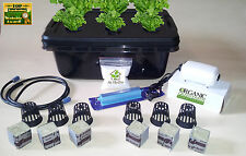 20 Piece Best Quality Professional 6 Plant Hydroponic Complete Grow System