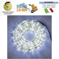 Tubo luminoso 50mt luci di natale da esterno per addobbi for Tubo luminoso led per esterno