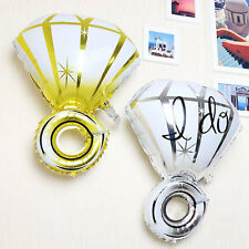 "Diamond Ring Helium ""I Do"" Balloons Wedding Engagement Table Party Decorations"