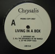 "LIVING IN A BOX ~ Different Air ~ 12"" Single PROMO"