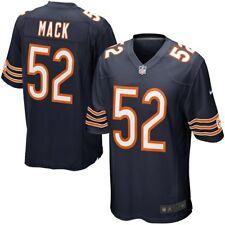 Chicago Bears Khalil Mack Jersey Navy Blue Stitched Name & Numbers Large