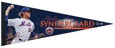 NOAH SYNDERGAARD New York Mets Signature Series Premium MLB Felt PENNANT