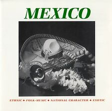 Mexico-Ethnic, folk-Music, NATIONAL CHARACTER, exotic/CD