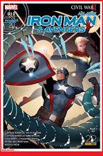 All New IRON MAN & AVENGERS12 Mai 2017 Marvel Panini CIVIL WAR 2 # NEUF #