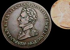 T634: 1812 Wellington (Picard's) Peninsular War Copper Halfpenny: issued in Hull