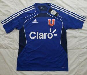 NWT Adidas Universidad U. de Chile Soccer Jersey Mens MEDIUM ClimaCool NEW Claro