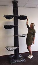 Kratzbaum große katze XXL Maine Coon Tower Blackline Plus Stämme 20cmØ