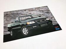 1997 Chevrolet S10 Standard Cab Pickup Information Card Brochure - GM Brazil