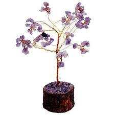 Satyamani Natural Energized Amethyst Small Crystal Tree (100 Dana) SMAS5036N