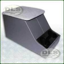 Centre Cubby Box XS Style Grey with Cup Holder Land Rover Defender (DA2035GREY)