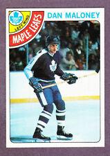 1978-79 Topps Hockey Dan Maloney #21 Toronto Maple Leafs NM/MT