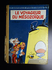 Album Le voyageur du Mésozoïque EO 1960 Spirou