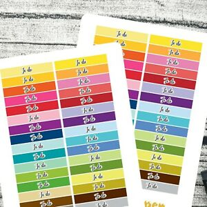To do headers stickers   Day head stickers   ECLP   For all planners #1110
