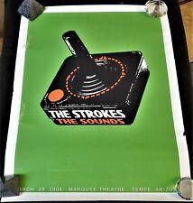 🔥Rare!🔥 2004 The Strokes The Sounds Atari Tempe, Az Concert Promo Poster Print