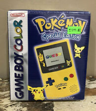 Rare Factory Sealed Nintendo GameBoy Color Pokemon Pikachu Yellow Edition Europe