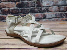 Ladies Merrell District Muir Lattice Silver Synthetic Sandal  *J90556