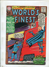 WORLDS FINEST #151 (7.0) THE INFINITE EVOLUTION OF THE BATMAN & SUPERMAN! 1965