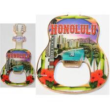 2017 HONOLULU HAWAII Hard Rock Cafe bottle opener MAGNET GUITAR Diamond Head NEW