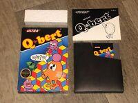 Q-Bert Nintendo Nes Complete CIB Excellent Condition Authentic