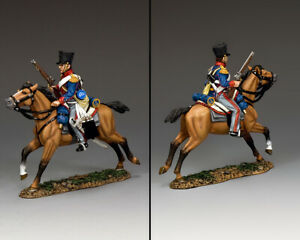 KING & COUNTRY THE AGE OF NAPOLEON NA432 KGL LIGHT DRAGOON WITH CARBINE MIB