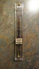 NOS Speidel C-RING Twist-O-Flex Silver Tone Ladies Watch Band 794/02 Long