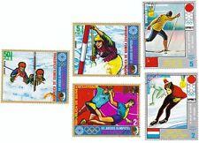 GUINEA ECUATORIAL - Bustina 5 francobolli serie GIOCHI OLIMPICI