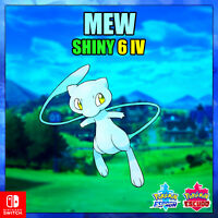 Mew Ultra Shiny Pokemon Legendario Espada y Escudo 🚀ENTREGA EN 10 MINUTOS 🚀