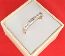 Michael Hill 10ct Solid Gold Round Cut Diamond Stack Ring