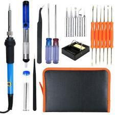 19in1 Soldering Iron Kit Electrical Welding Tool Gun Set Solder Station 60W 110V