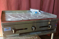"""New 36"""" Griddle Flat Top Grill Gas Stratus Smg36 #1179 Commercial Restaurant Nsf"""
