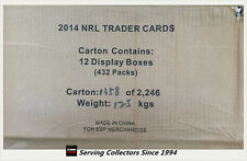 2014 ESP NRL Traders Card Trading Card Factory Case (36 PKS X12 Boxes )