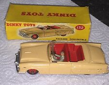 Dinky Toys Packard Convertible 132