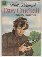 "[48097] ""WALT DISNEY'S DAVY CROCKETT COMIC"" FOUR COLOR No. 631 (#1) DELL COMICS"