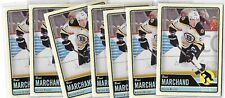 Brad Marchand Boston Bruins 2012-13 OPC Base Card Lot of 7